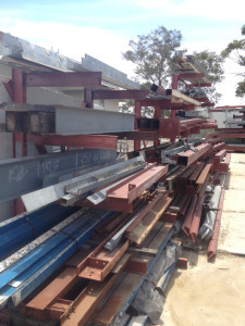 heavy metal structural steel salvage
