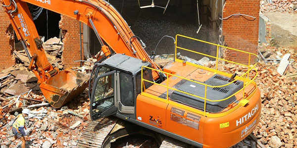 What Does A Commercial Site Demolition Project Involve?