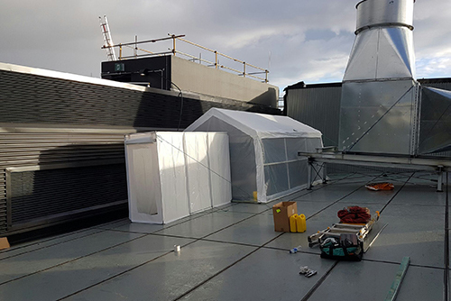 Asbestos Roof Removal Replacement