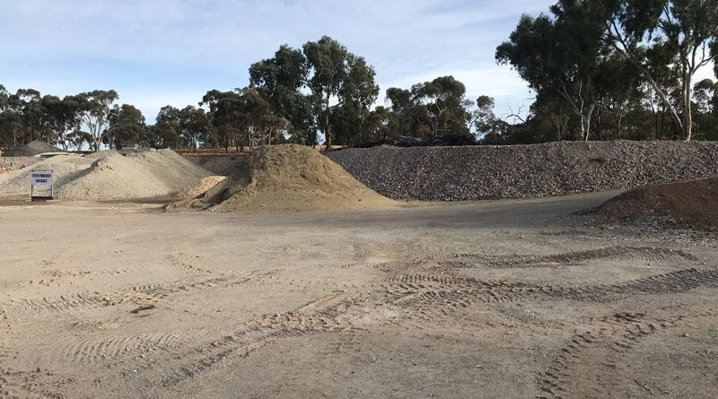 Swan Construction Recycling Gravel